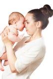 Mamma e bambino Immagine Stock