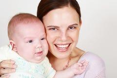 Mamma e bambino Immagini Stock