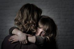 Mamma e figlia Immagine Stock