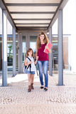 Mamma e figlia Fotografia Stock