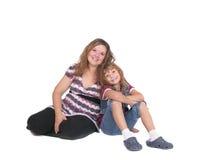 Mamma e figlia messe immagine stock libera da diritti