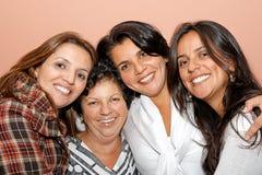 Mamma e figlie Immagine Stock
