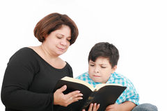 Mamma e figlio Immagine Stock
