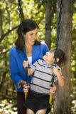 Mamma e figlio. Fotografia Stock