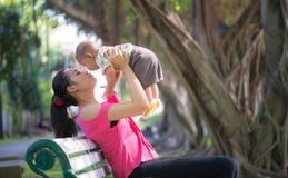 Mamma e figlio Immagini Stock Libere da Diritti