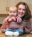Mamma en baby Stock Foto's