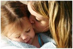 Mamma en dochter Royalty-vrije Stock Afbeeldingen