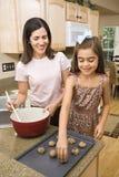 Mamma en dochter. Royalty-vrije Stock Afbeelding