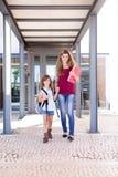 Mamma en dochter Stock Foto