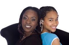 Mamma & figlia Fotografia Stock Libera da Diritti