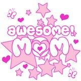 Mamma impressionante Immagine Stock