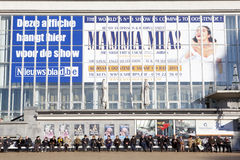 Mamma Mia advert, Ostend, Beglium Stock Images