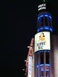 Mamma Mia! De Film in Londen, Engeland Stock Fotografie
