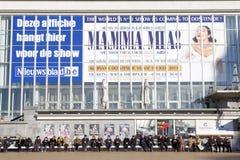 Mamma Mia ogłoszenie, Ostend, Beglium obrazy stock