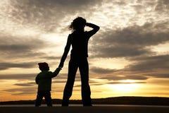 Mamma mit Kind Lizenzfreies Stockfoto