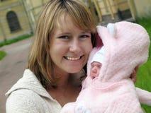 Mamma's en baby Royalty-vrije Stock Afbeelding