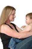 Mamma's en babys royalty-vrije stock afbeeldingen