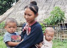 Mamma teenager di Lantaen. Fotografie Stock Libere da Diritti