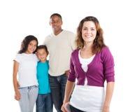 Mamma und Familie stockfoto