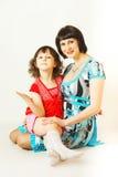 Mamma und ich. Lizenzfreies Stockfoto
