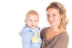 Mamma und Schätzchen Lizenzfreie Stockbilder