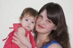 Mamma und Schätzchen Foto für Ihr lizenzfreies stockfoto