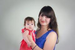 Mamma und Schätzchen Foto für Ihr lizenzfreie stockfotos