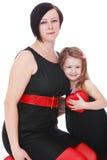 Mamma und Tochter lizenzfreie stockfotos