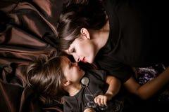 Mamma und Tochter Lizenzfreies Stockfoto
