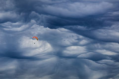 Mammatus chmura Zdjęcie Royalty Free