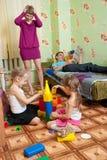 Mammaumkippen durch Verwirrung stockfoto
