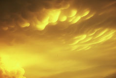 Mammitus Cloud Formation Stock Photos