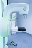 Mammogram breast cancer screening device Royalty Free Stock Image