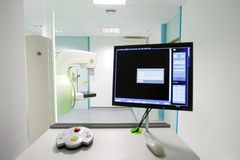 Mammography breast screening machine Royalty Free Stock Images