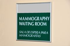 Mammography Waiting Room Stock Photos