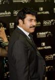 Mammootty, acteur indien du sud de Malayam Image stock