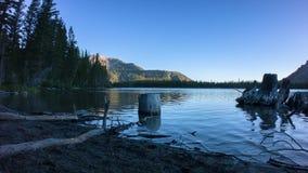 Mammoth Alpine Lake stock video footage