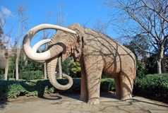 Mammoth of Barcelona Stock Image