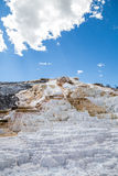 Mammoth Hot Spings in Yellowstone National Park, Wyoming, USA Royalty Free Stock Photo