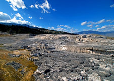 Mammoth Hot Springs Lizenzfreie Stockbilder
