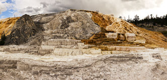 Mammoth Hot Springs Royalty Free Stock Images