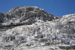 Mammoth Hot Springs Royalty Free Stock Photos