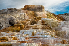 Free Mammoth Hot Springs Royalty Free Stock Image - 44261386