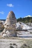 Mammoth Hot Springs Royaltyfri Bild