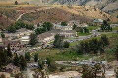Mammoth Hot Springs 2 Royaltyfri Bild