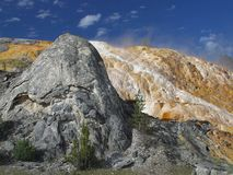 Mammoth Hot Springs 5 Stock Photography