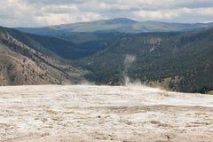 Mammoth Hot Springs Fotografía de archivo
