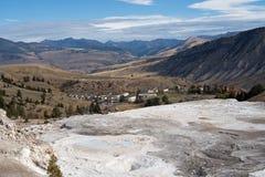 Mammoth Hot Springs Fotografia de Stock