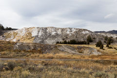 Mammoth Hot Springs Foto de archivo libre de regalías