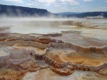 Mammoth Hot Springs Royalty Free Stock Photo